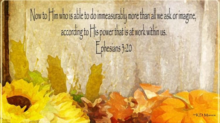 Eph. 3:20