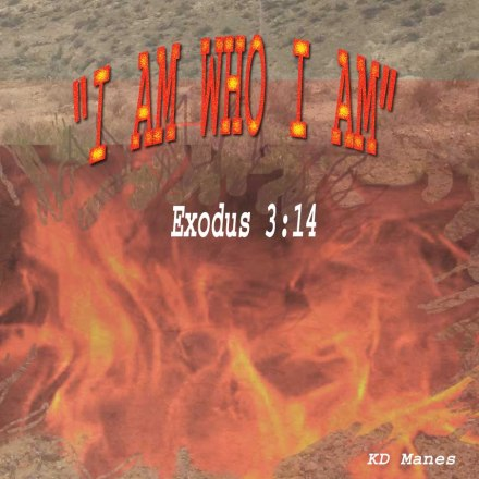 "Yahweh is derived from the Hebrew word for ""I Am."" The author, Moses, gives us the reason why this burning bush wasn't consumed. It was supernaturally aglow with the angel of the Lord (Gen. 16:7; 22:11; Exodus 3:2; Judges 6:11; 13:3), the preincarnate manifestation of Jesus Christ (the second person of the Godhead)."