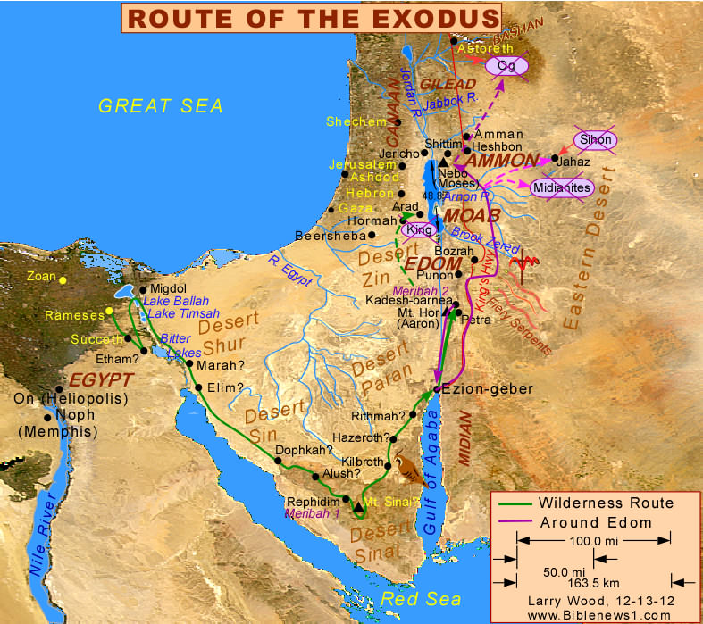 Charting Israels Course Exodus 1317149  kdmanestreet