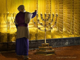 Image result for tabernacle lampstand